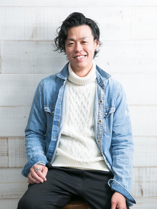 有澤延将(専務取締役)